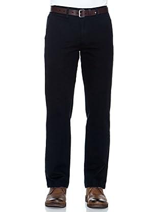 Dockers Pantalón Recto De Algodón (Negro)