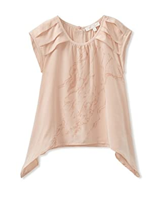 Pale Cloud Girl's Amalie Top (Pale Pink)