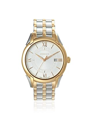 Versace Men's VFI050013 Apollo Silver/Rose Gold IP Watch
