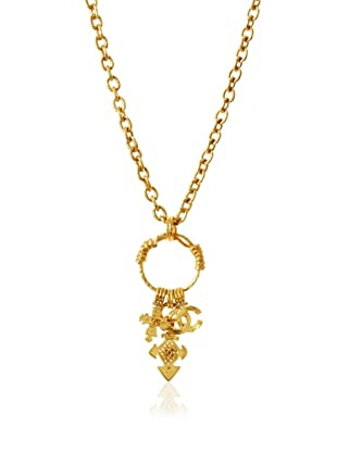 CHANEL Oversized Maltese Cross Necklace