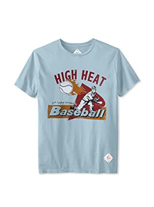 7th Inning Stretch Men's High Heat T-Shirt (Vintage Blue)