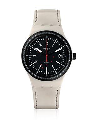 Swatch Reloj automático Unisex Sistem Cream  42 mm