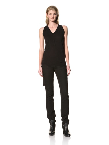 RICK OWENS Women's Tunic Tank (Black)