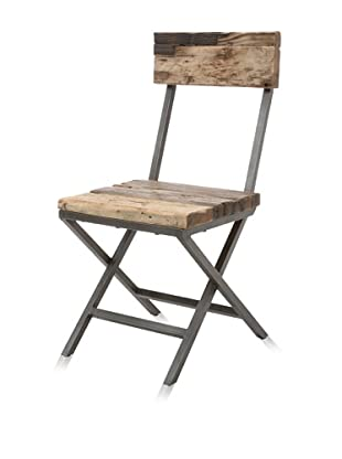 Classic Home Franklin Side Chair, Natural
