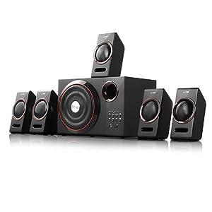 F&D F-3000U 5.1 Multimedia Home Theater Speaker (Black)