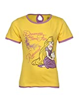 Disney Princess Yellow Tops