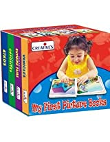 Creative's My First Picture Books (A Set Of 4 Board Books) 0554