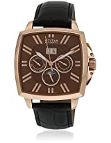 90004Wl02J Black/Brown Chronograph Watches