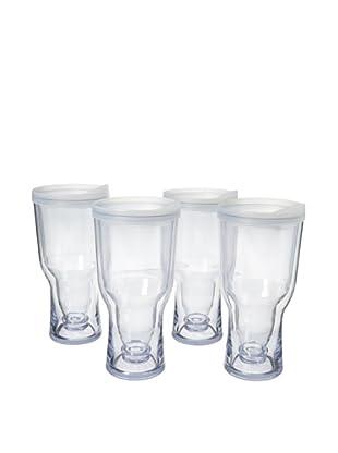 AdNArt Set of 4 Brew to Go (White)