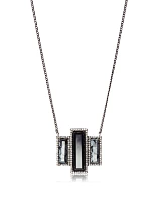 Melanie Auld Black Onyx Deco Necklace