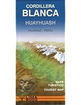 Cordillera Blanca Huayhuash: Tourist Map and Guide