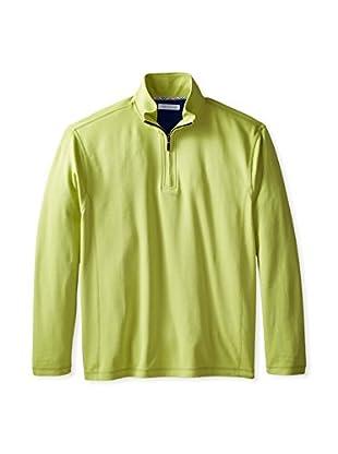 Alex Cannon Men's Quarter Zip Knit Shirt