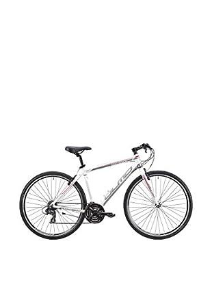 Olmo Bicicleta Trekking Voyager 21V Hombre Blanco