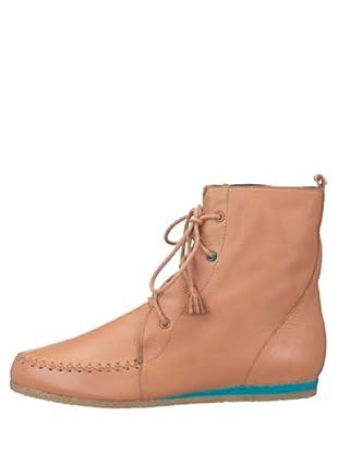 flip*flop 20515 - Botas de cuero para mujer (Natural)