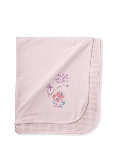 KANZ Baby Jersey Butterfly Blanket (Pink)