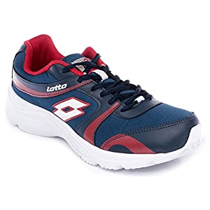 Lotto Pacer Blue & Red Men's Running Shoes (AR3171)