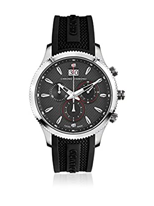 Chrono Diamond Reloj con movimiento cuarzo suizo Man 12000Br Okeanos Negro 41.0 mm