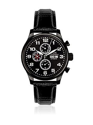 Hindenberg Reloj automático Man 210-H Excellence Pvd Negro 46 mm