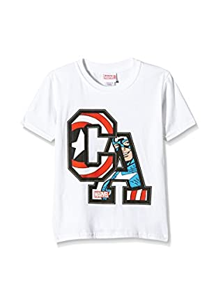 Marvel T-Shirt Captain America Initials