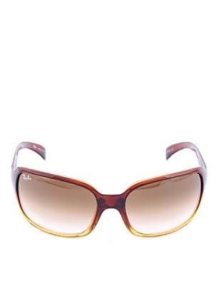 Ray-Ban Sonnenbrille Carey RB 4068, 828/5 gelb/braun