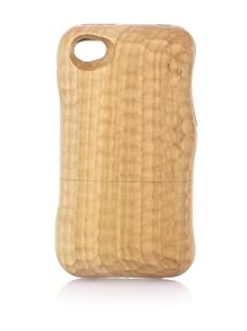 Real Wood iPhone 4/4S Case, U-Shaped Knife, Cherry