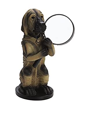 Bombay Company Hawthorne Magnifying Glass Holder, Brown