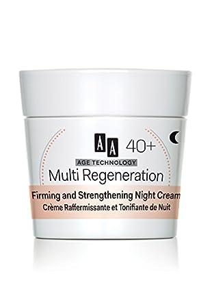 AA Cosmetics Nachtcreme Age Technology Multi Regeneration 40+ 50 ml, Preis/100 ml: 29.9 EUR