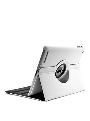 Unotec Funda Rotación 360 Blanca iPad2/3/4 Blanca