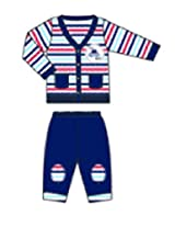 Toddler Baby Boys' Cardigan And Pant Set (Set Of 2) (WC001-06_Multi-Colour_18-24M)