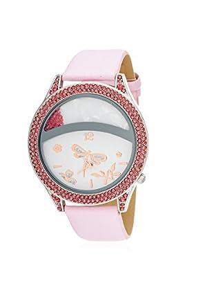 Via Nova Women's NWL308515PK-Z Pink Leather Watch