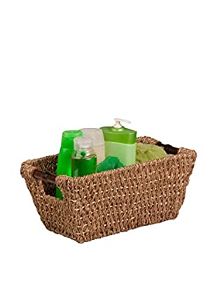 Honey-Can-Do Seagrass Basket with Handles