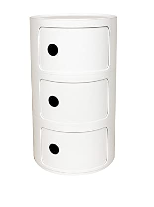 Control Brand The Compo Mini Storage Chest, White