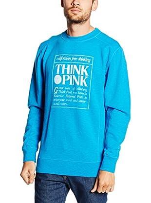 THINK PINK Sweatshirt Felpa Basic Uomo