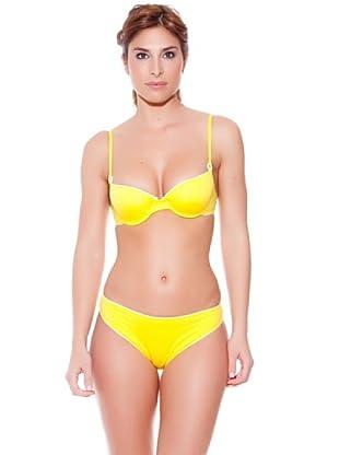 Teleno Bikini Con Aro Y Foam (Amarillo)