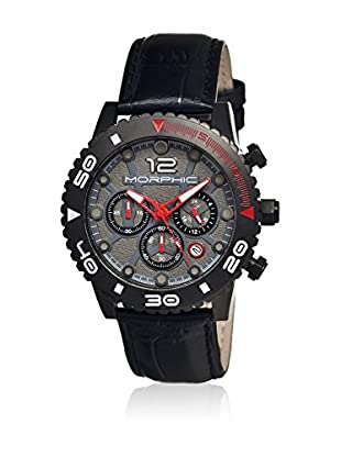 Morphic Reloj con movimiento cuarzo japonés Mph3305 Negro 43  mm