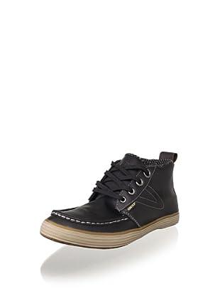 Tretorn Men's Obo GTX Leather Chukka (Black/gum)
