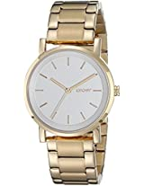 DKNY Women's NY2343 SOHO Gold Watch