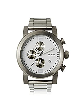 Nixon Men's A347-100 The Ride Chrono Silver Stainless Steel Watch