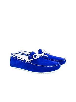 Bobbies Mokassins Le Voyageur (Blau)