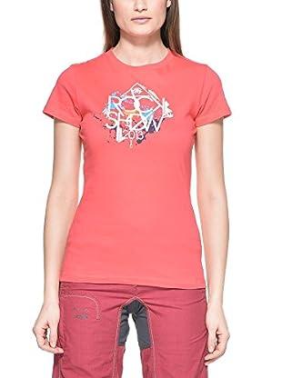 Salewa T-Shirt  koralle