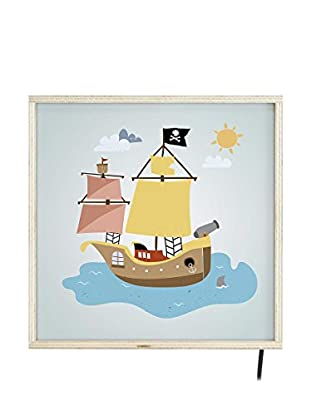 Little Nice Things Leuchtbild LED Lightbox Pirate