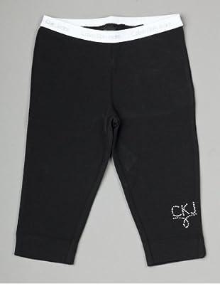Calvin Klein Jeans CGB880 J8C08 Mädchen Hosen/ Lang (Schwarz)