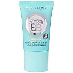 Maybelline New York BB Cream, Natural, 18ml