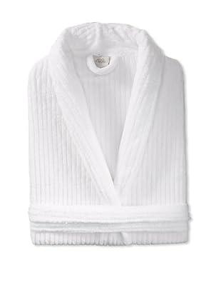 Espalma Cuddle Rib Robe, White