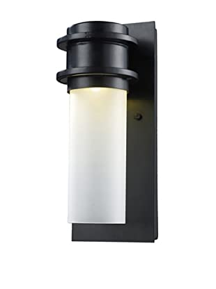 Artistic Lighting LED Freeport Outdoor Sconce, Matte Black