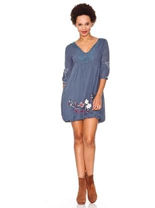 Desigual Vestido Sting (Azul)