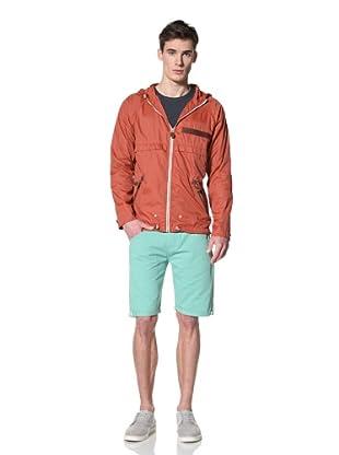 Marshall Artist Men's Lightweight Windcheater Jacket (Burnt orange)