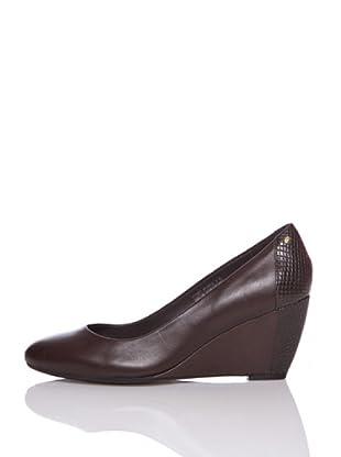 Rockport Zapatos Cuña Nelsina (Marrón)