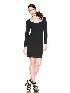 Rebecca Minkoff Women's Bardot Ring Dress (Black)