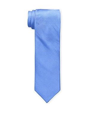 Bruno Piattelli Men's Solid Tie, Blue